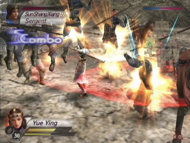 DynastyWarriors4-XtremeLegends PS2 Div 013