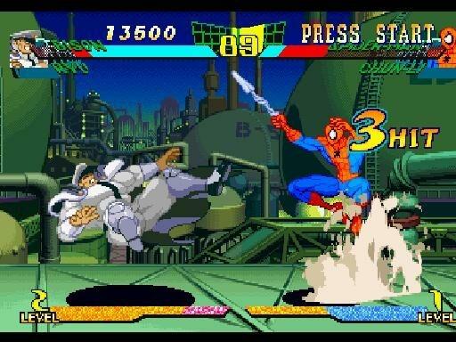 MarvelSuperHeroesVsStreetFighter Saturn Div 022