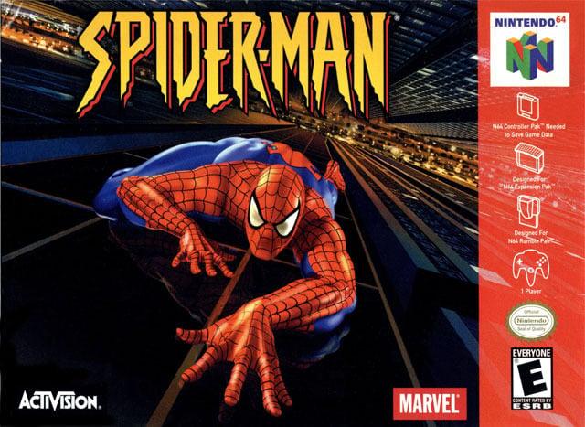 Spider-Man N64 Jaquette 001