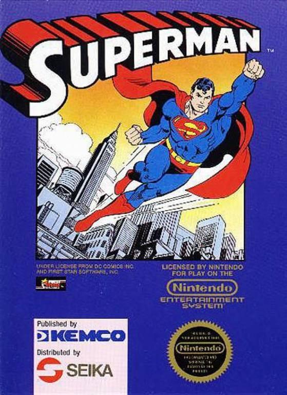 Superman-Nes- NES Jaquette 001