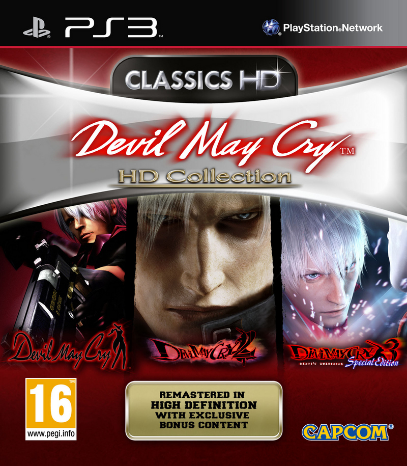 DevilMayCryHDCollection PS3 Jaquette 001