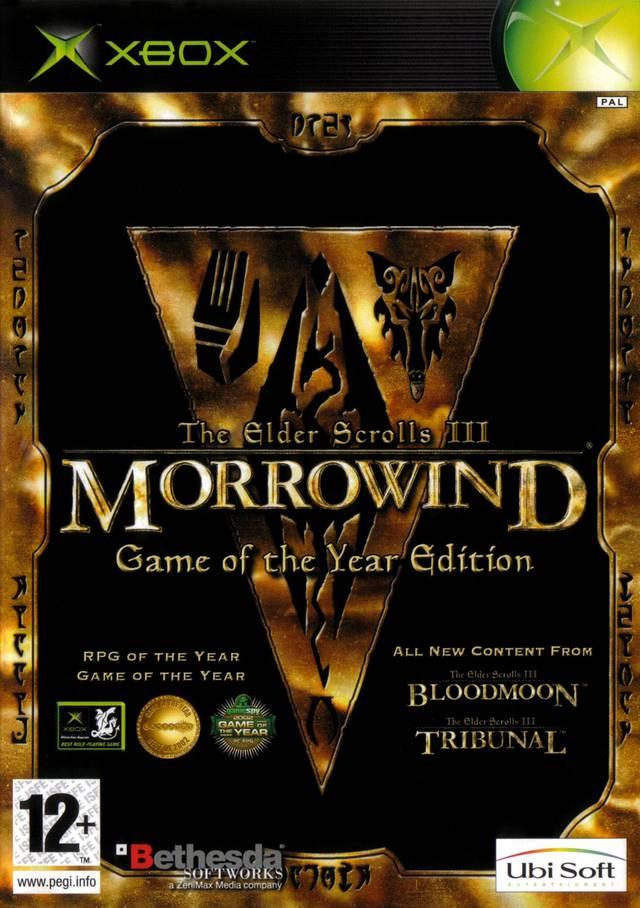 TheElderScrollsIII-Morrowind-GameoftheYearEdition Xbox Jaquette 001