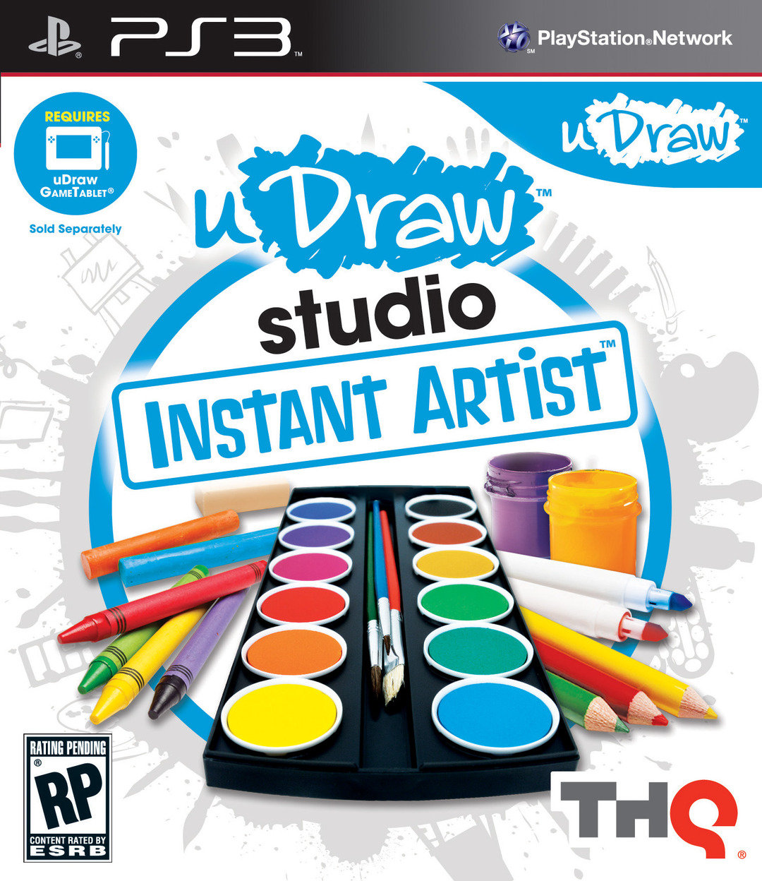 uDrawStudio-DessinerFacilement PS3 Jaquette 001