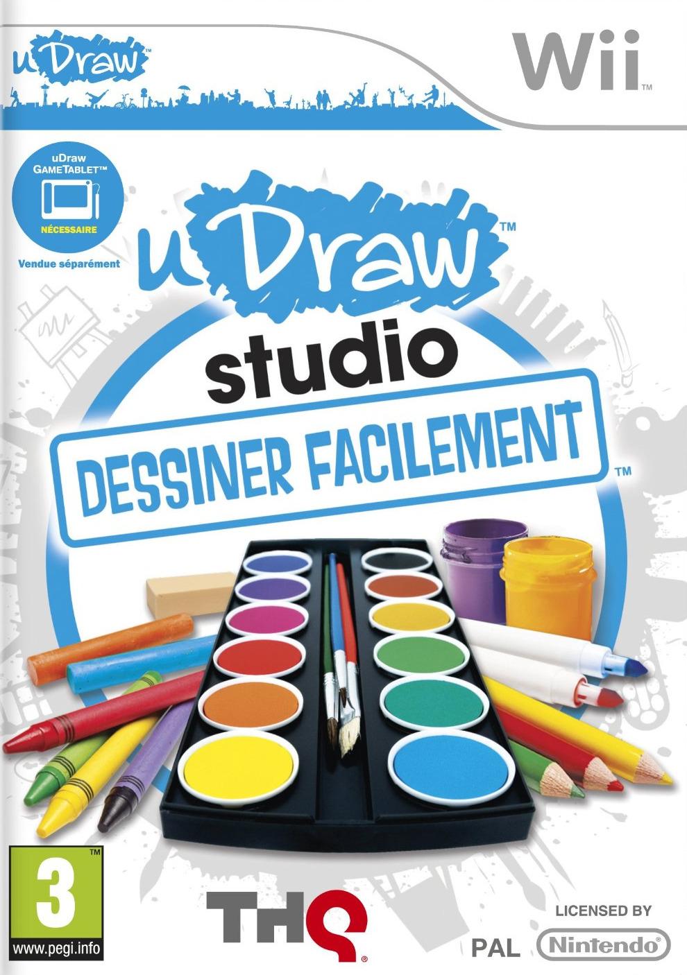 uDrawStudio-DessinerFacilement Wii Jaquette 001