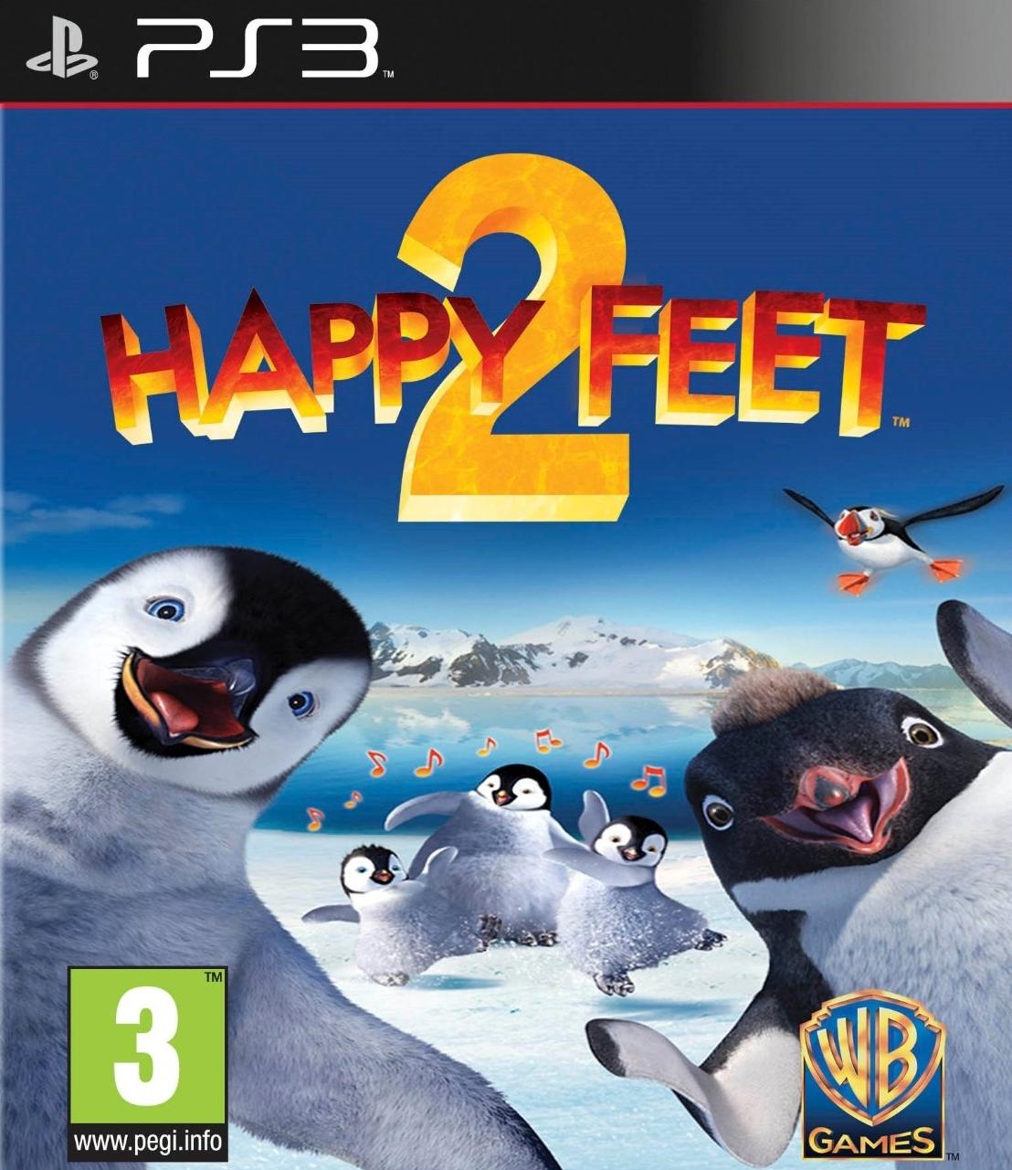 HappyFeet2 PS3 Jaquette 001