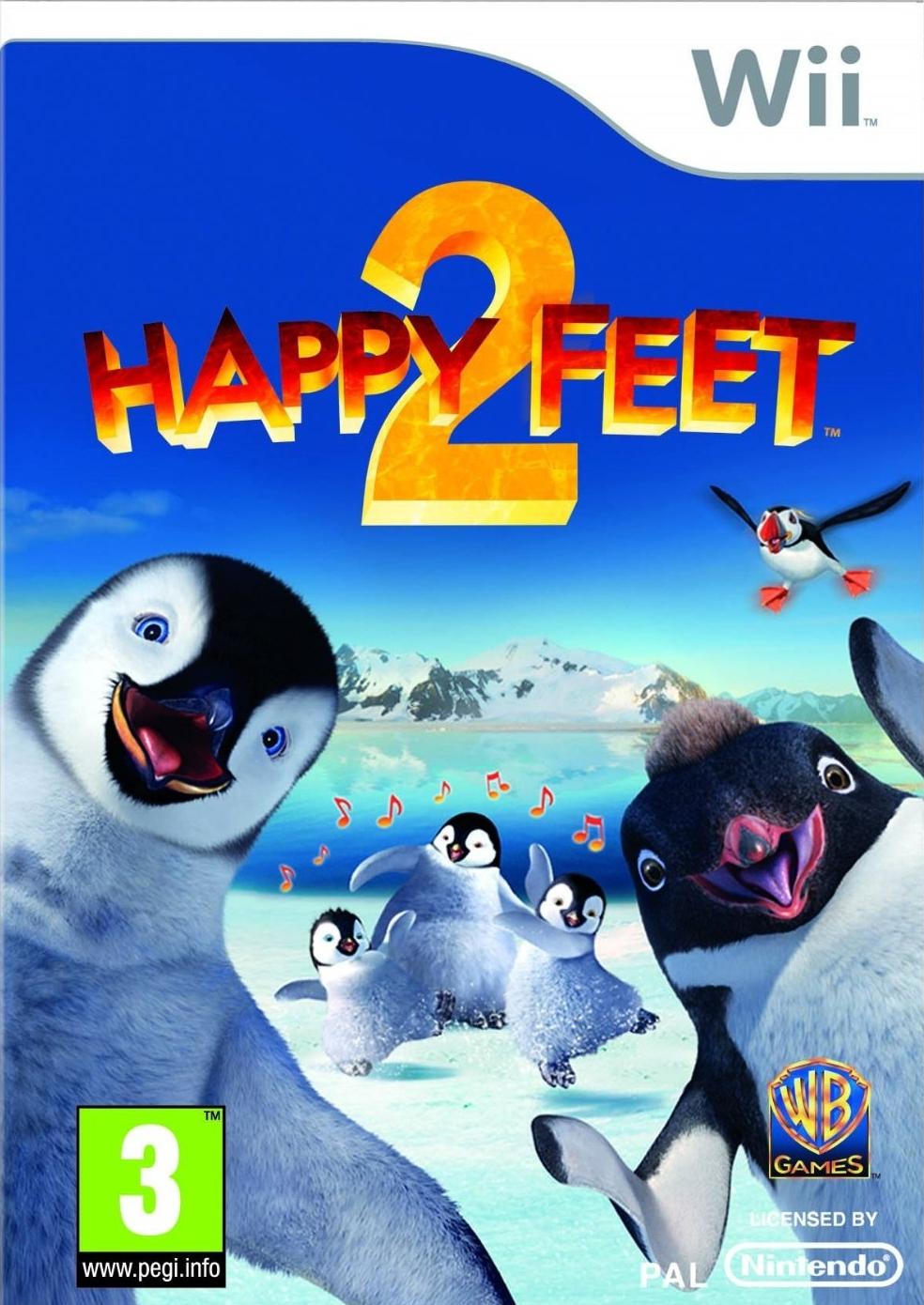 HappyFeet2 Wii Jaquette 001