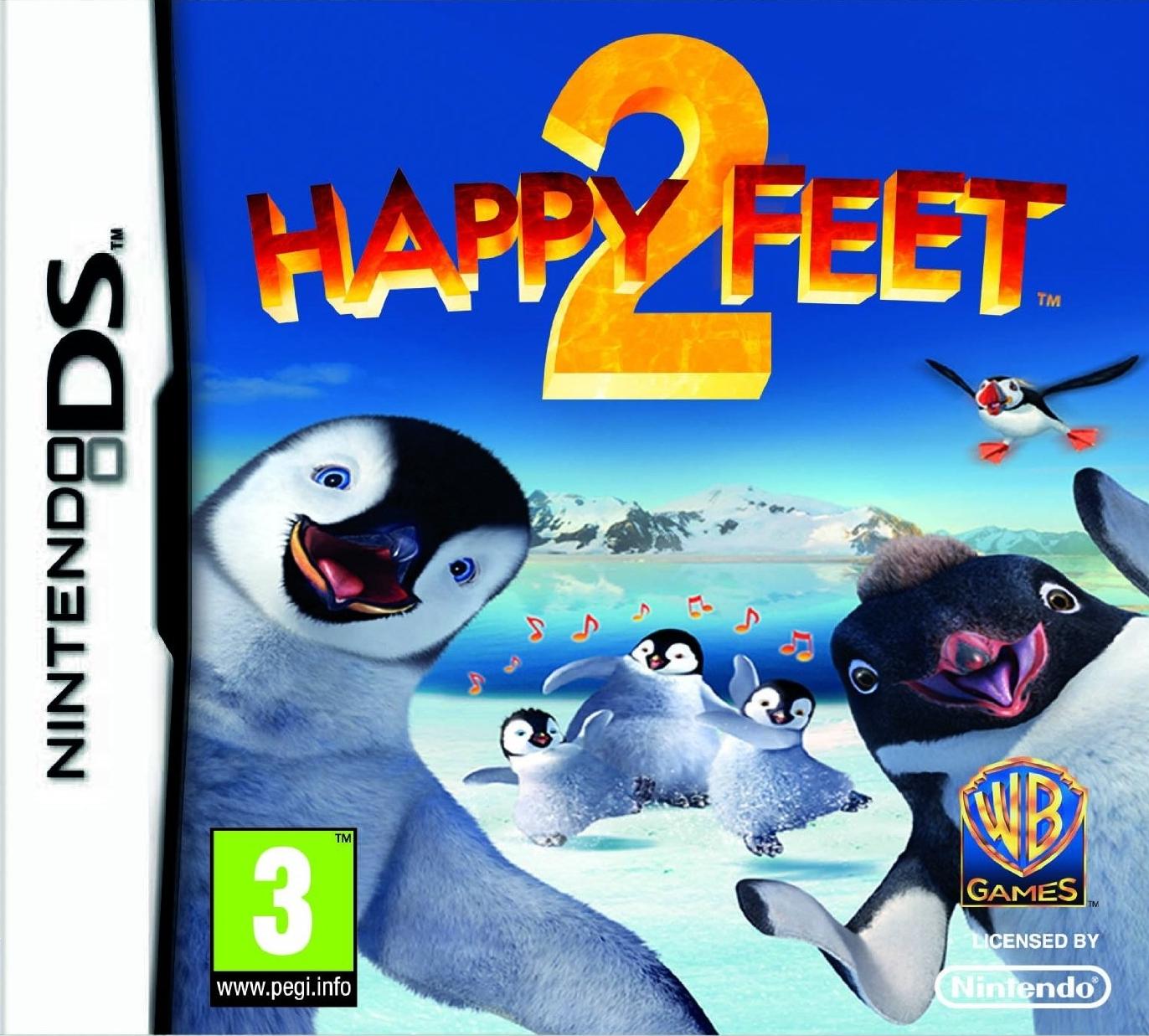 HappyFeet2 DS Jaquette 001