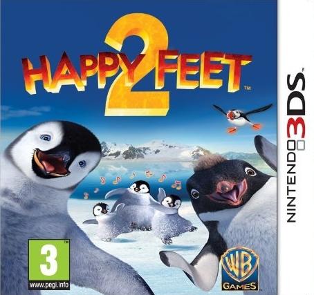 HappyFeet2 3DS Jaquette 001