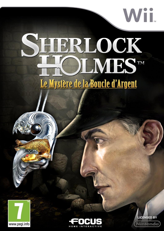 SherlockHolmes-LeMysteredelaBoucled-Argent Wii Jaquette 001