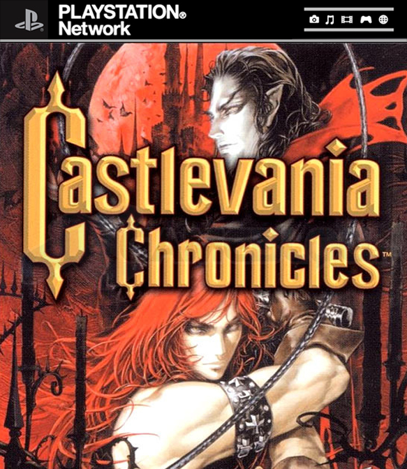 CastlevaniaChronicles PS Network Jaquette 001