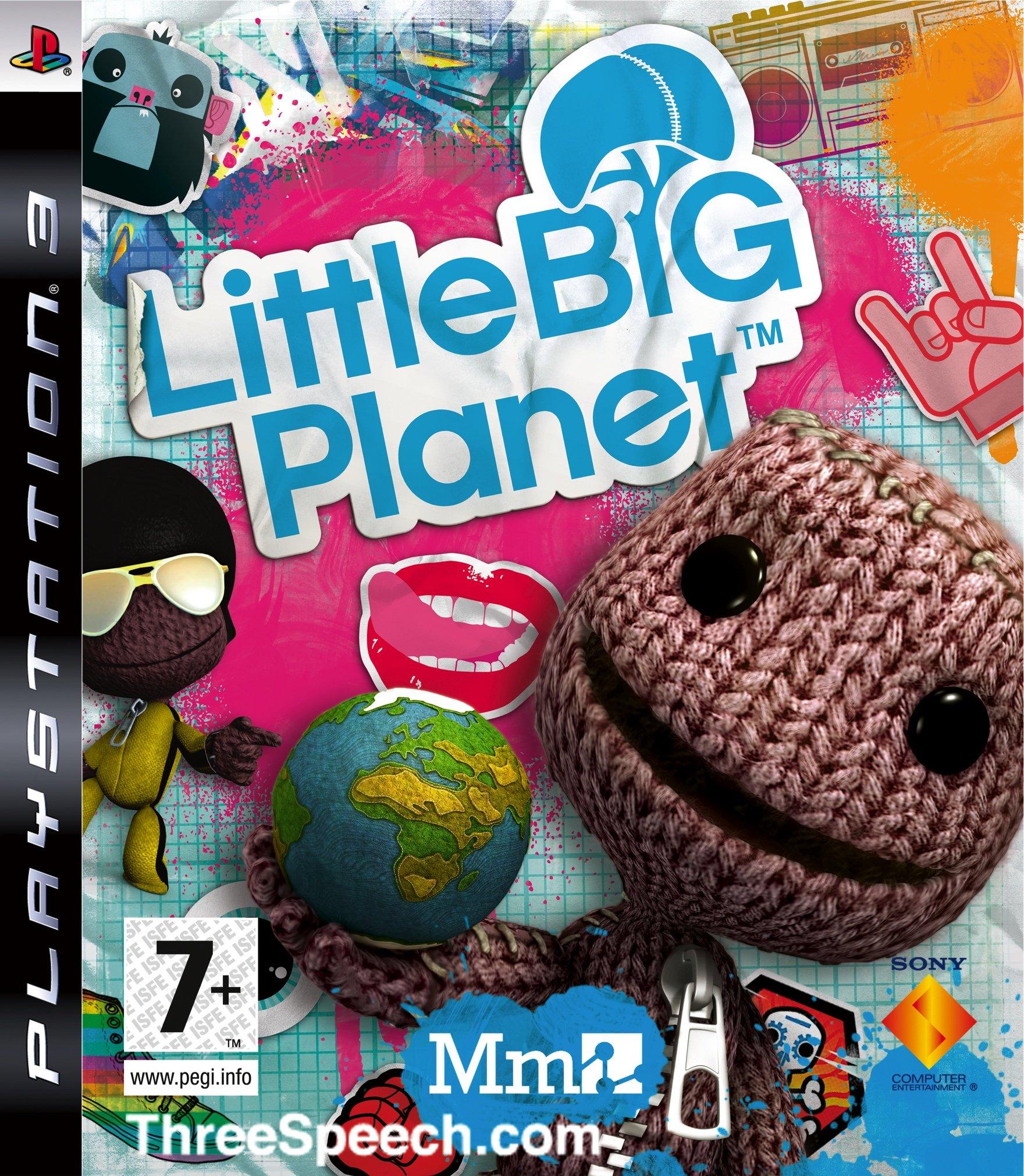 LittleBigPlanet PS3 divers jaquetteeuro