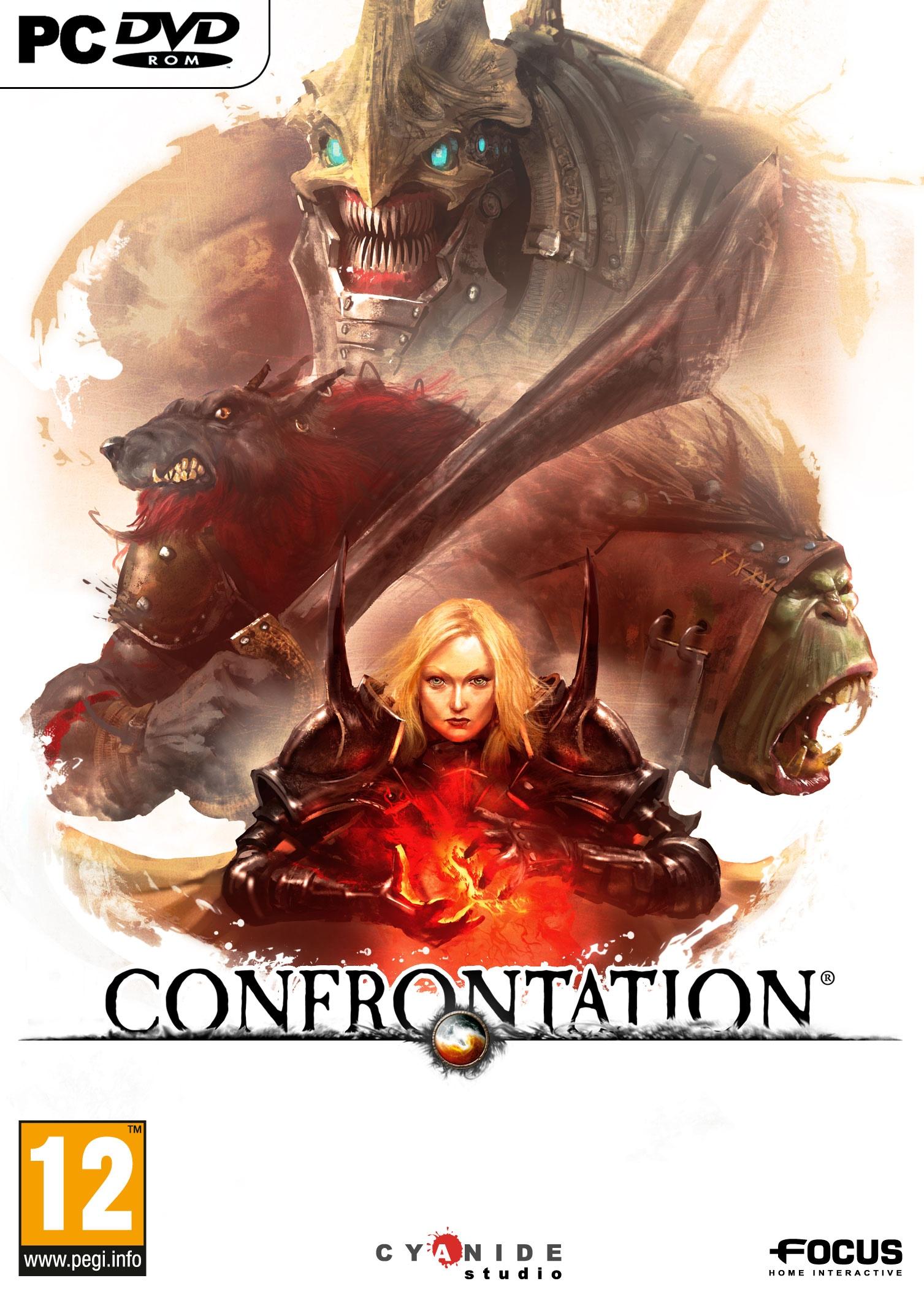 Confrontation PC Jaquette 001