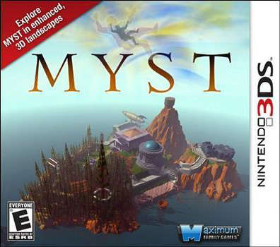 Myst 3DS Jaquette 001