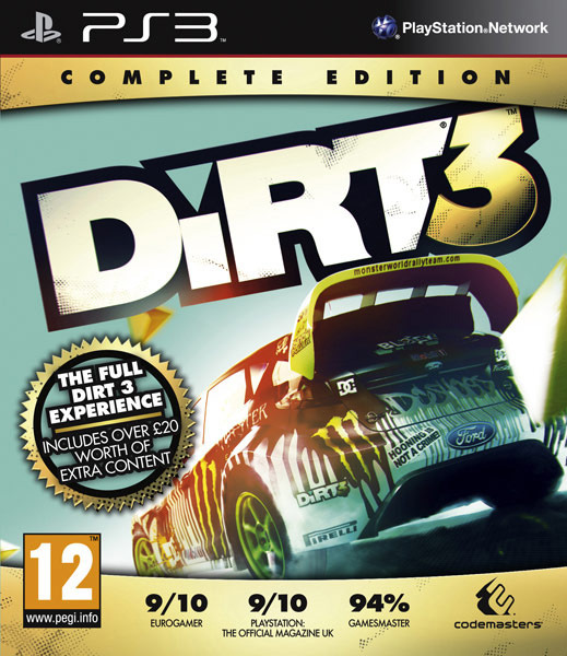 DiRT3-CompleteEditon PS3 Jaquette 001