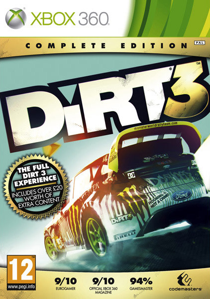 DiRT3-CompleteEditon 360 Jaquette 001