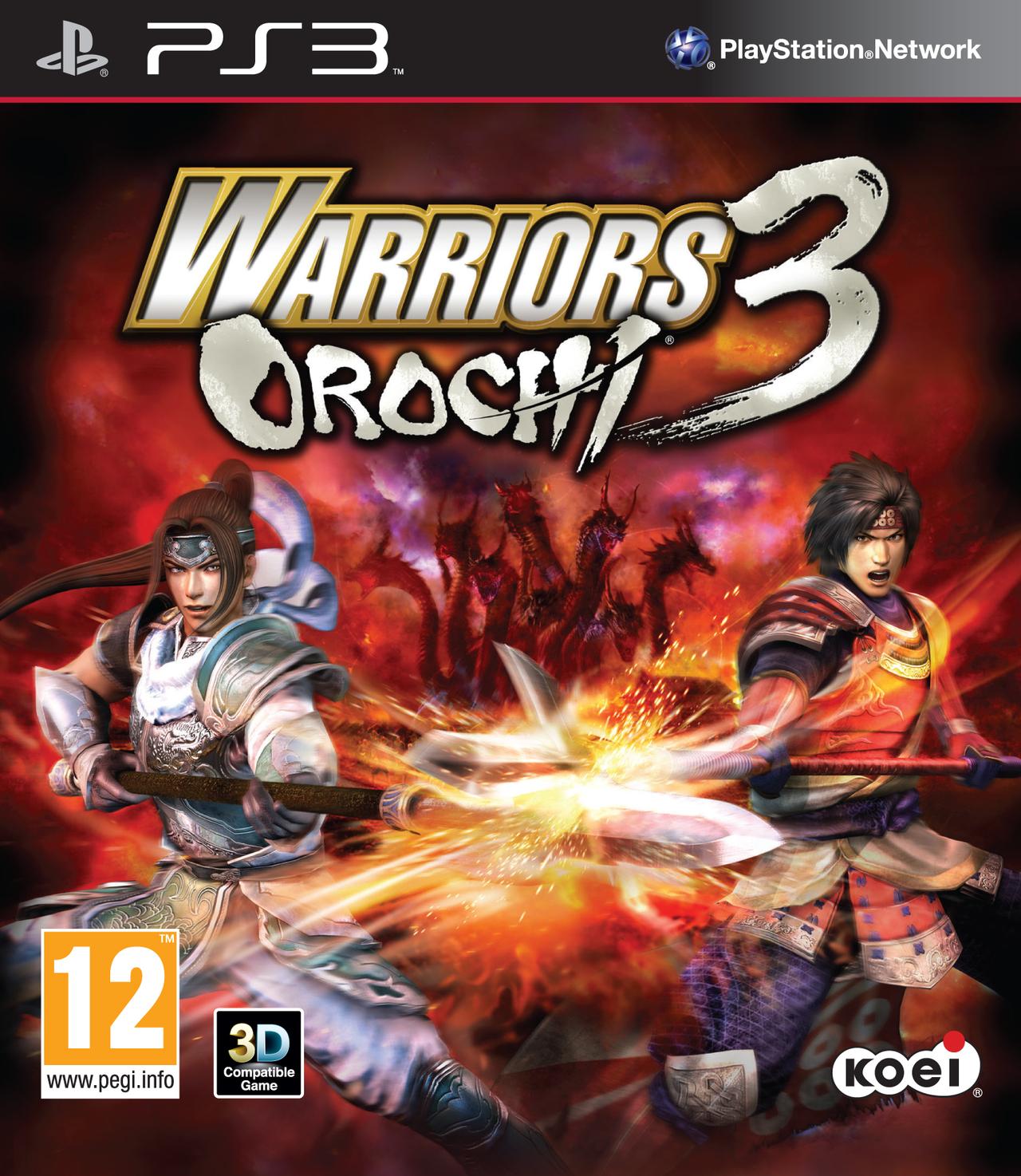 WarriorsOrochi3 PS3 Jaquette 002