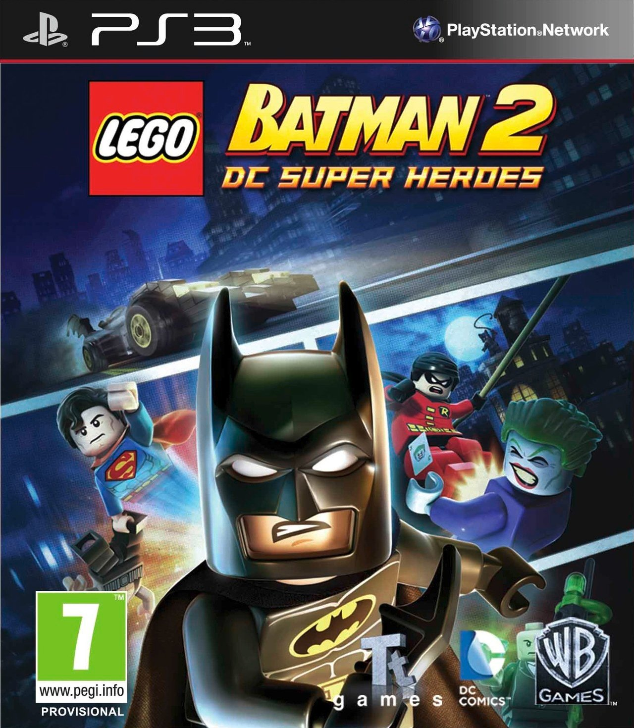 Batman en boite...LEGO.
