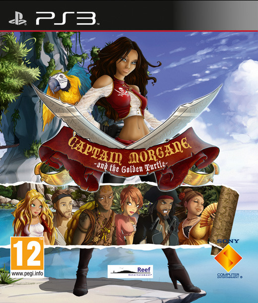 CaptainMorganeetlaTortued-Or PS3 Jaquette 001