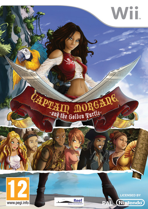 CaptainMorganeetlaTortued-Or Wii Jaquette 001
