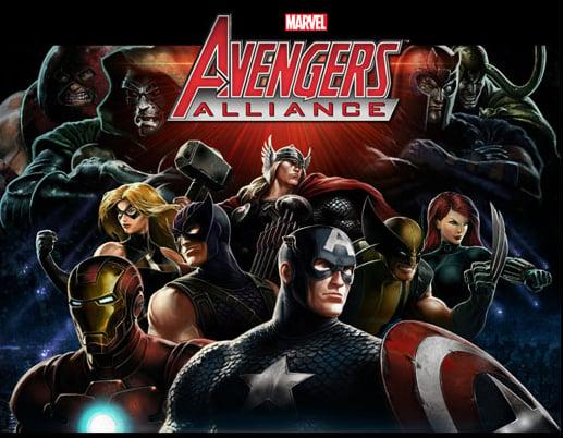 Marvel-AvengersAlliance Facebook Jaquette 001