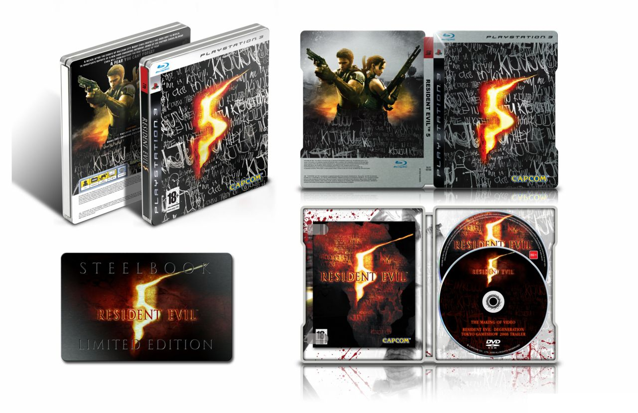 Resident5 PS3 CollectorEurope