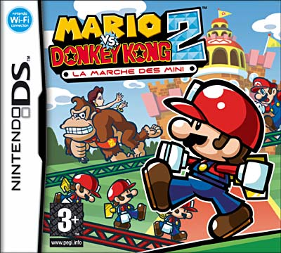 mariovsdonkey2 DS jaquette