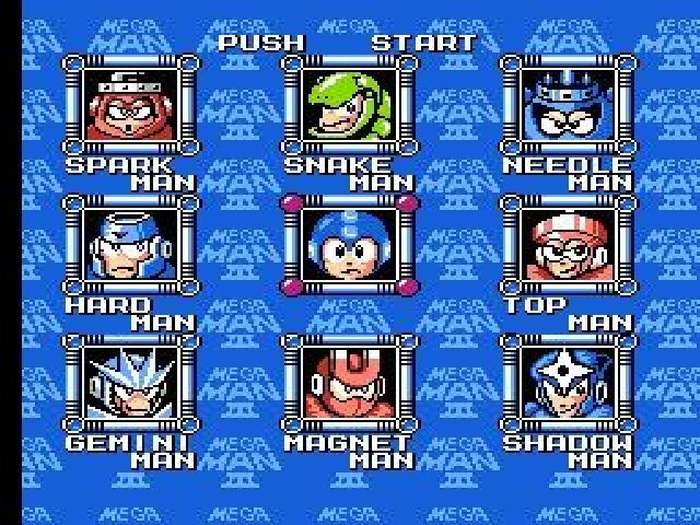 MegaMan3 NES Editeur 001
