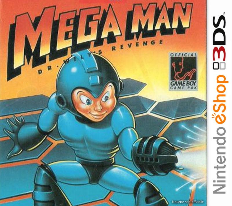 MegaMan-Dr.Wily-sRevenge 3DS VC Jaquette 001