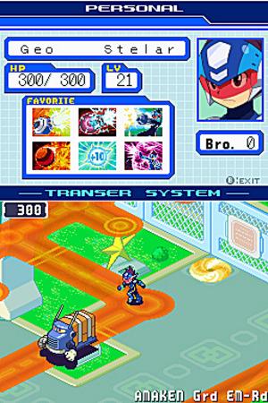 MegaManStarForceDragon DS Editeur 006