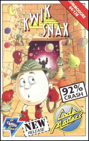 KwikSnax C64 Jaquette 001