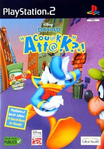DonaldCouakAttack PS2 Jaquette 001