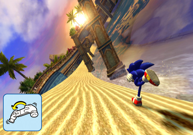 SonicSR Wii Editeur 003