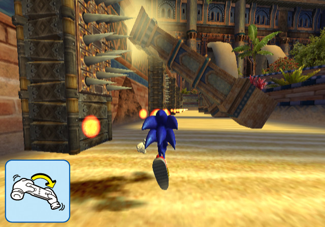 SonicSR Wii Editeur 007