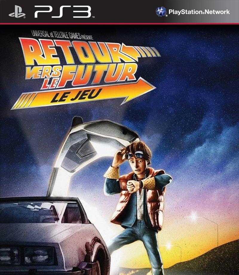 RetourVersleFutur-LeJeu PS3 Jaquette 001
