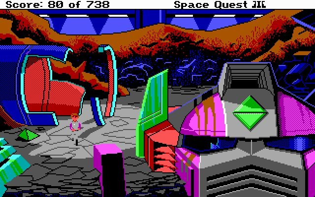 SpaceQuest3-ThePiratesofPestulon PC Editeur 003
