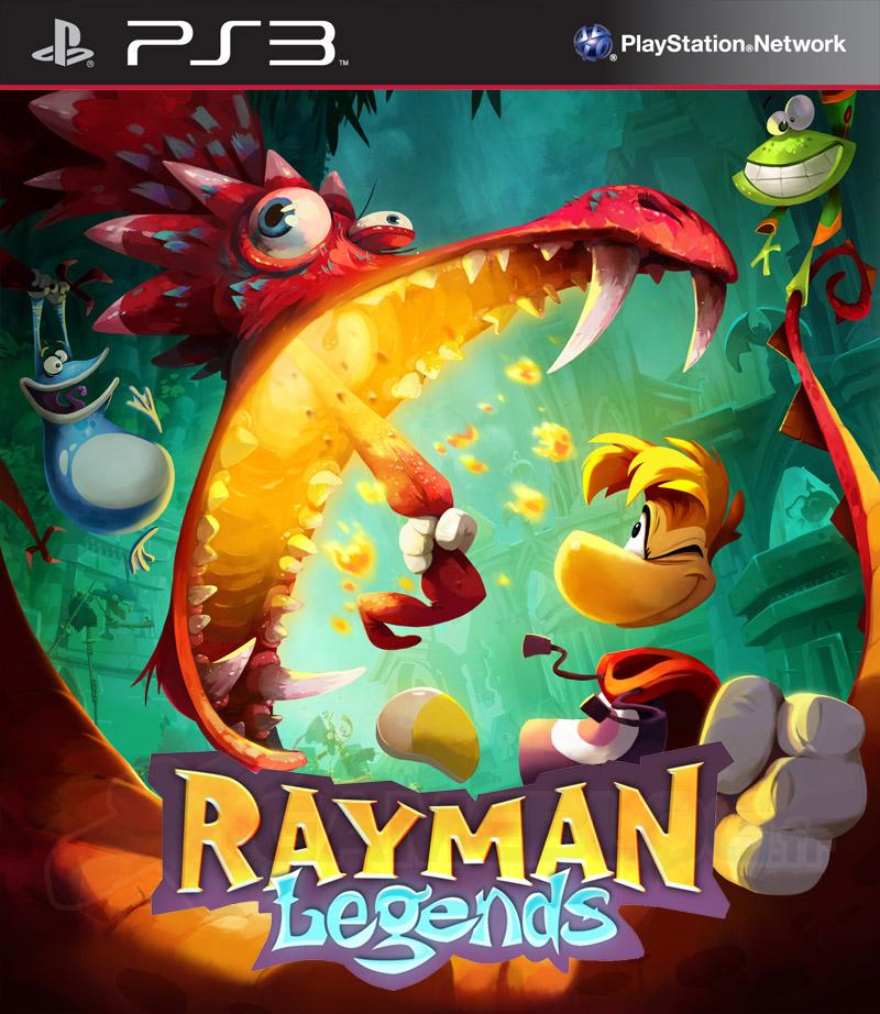 RaymanLegends PS3 Jaquette 001