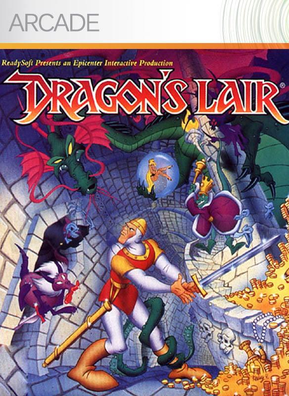 Dragon-sLair XBLA Jaquette 001