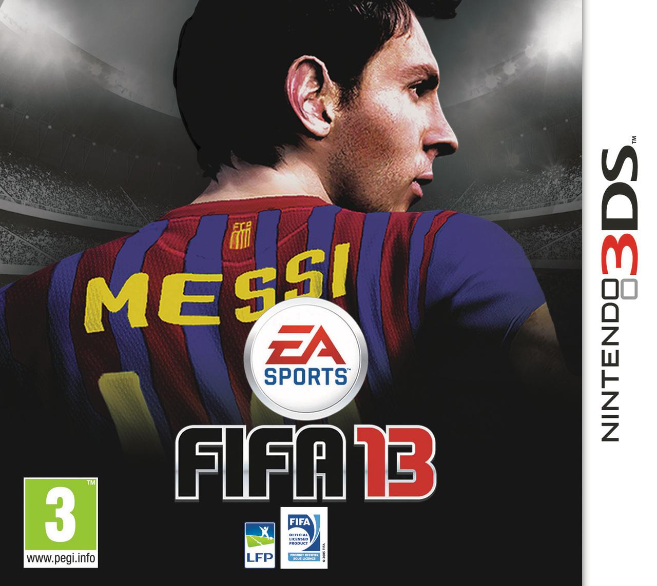 FIFA13 3DS Jaquette 001