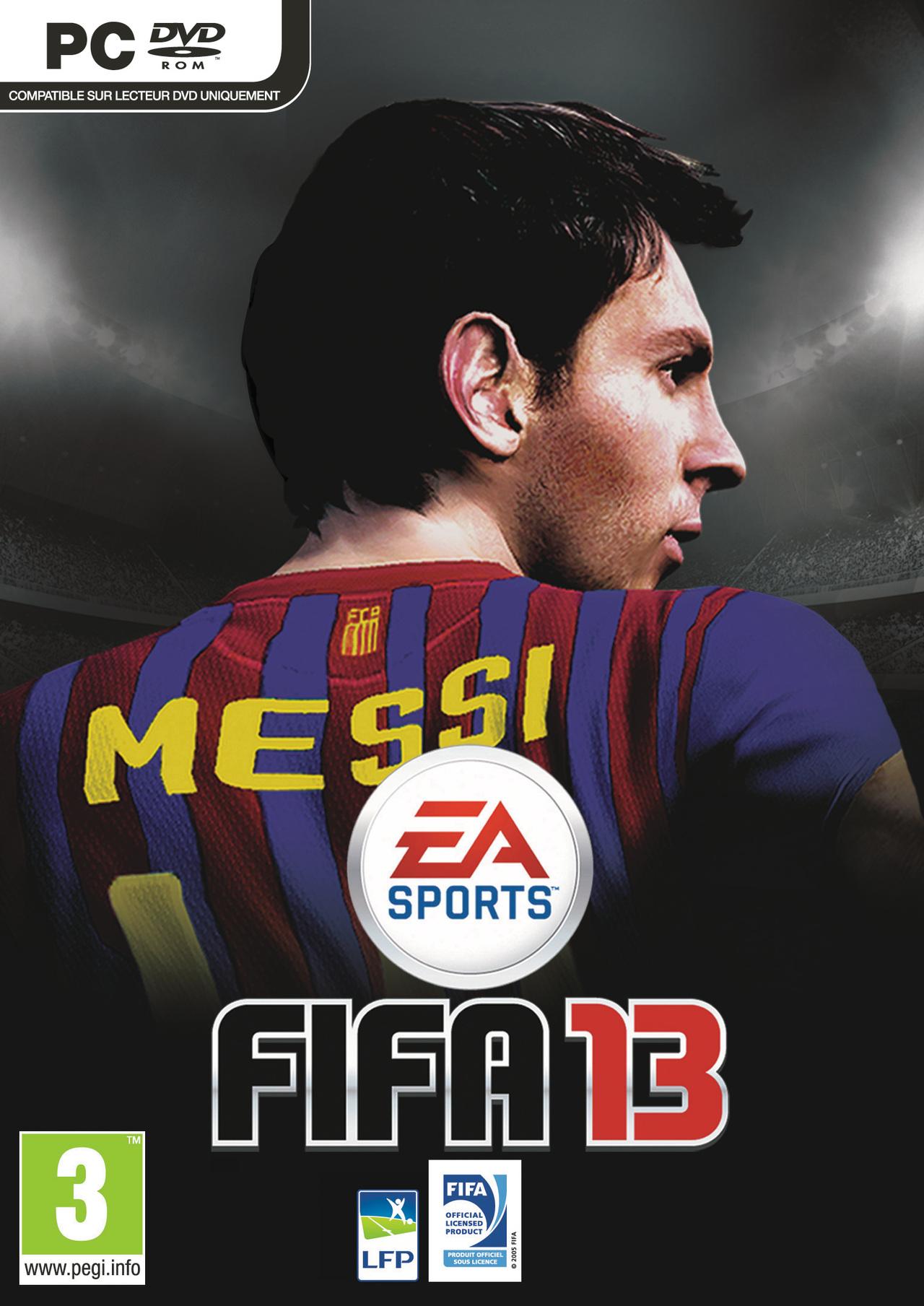 FIFA13 PC Jaquette 001