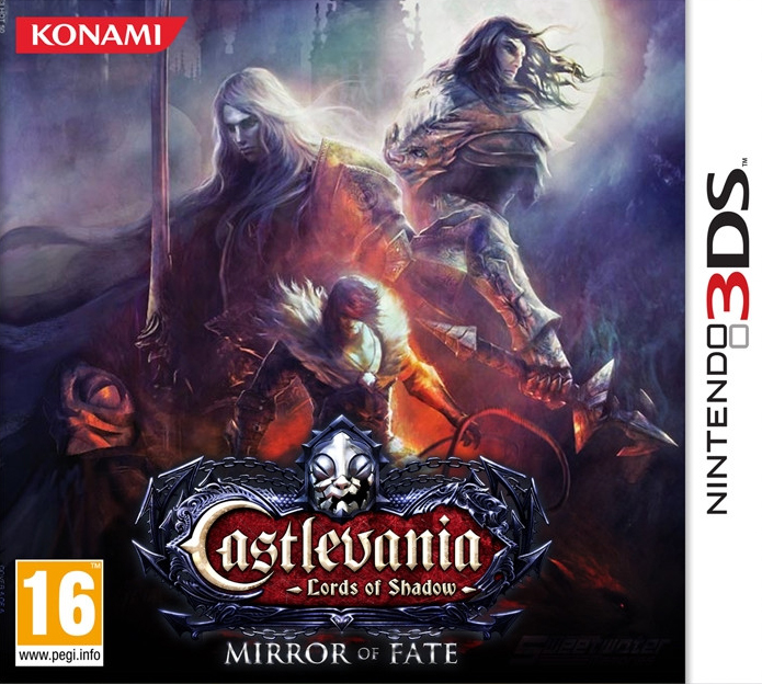 Castlevania-LordsofShadow-MirrorofFate 3DS Jaquette 001
