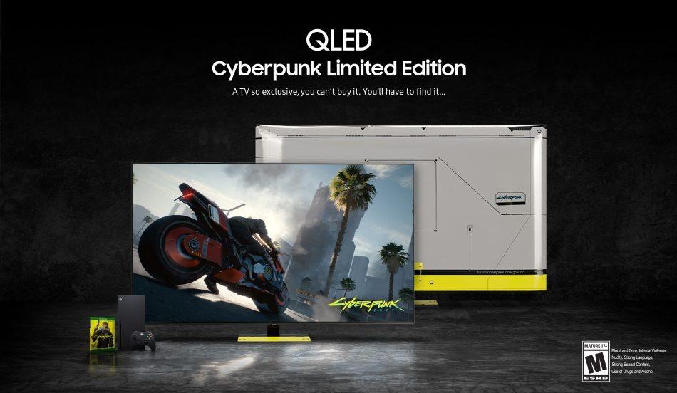Samsung-QLED-Xbox-Cyberpunk-2077-TV-1-950x552