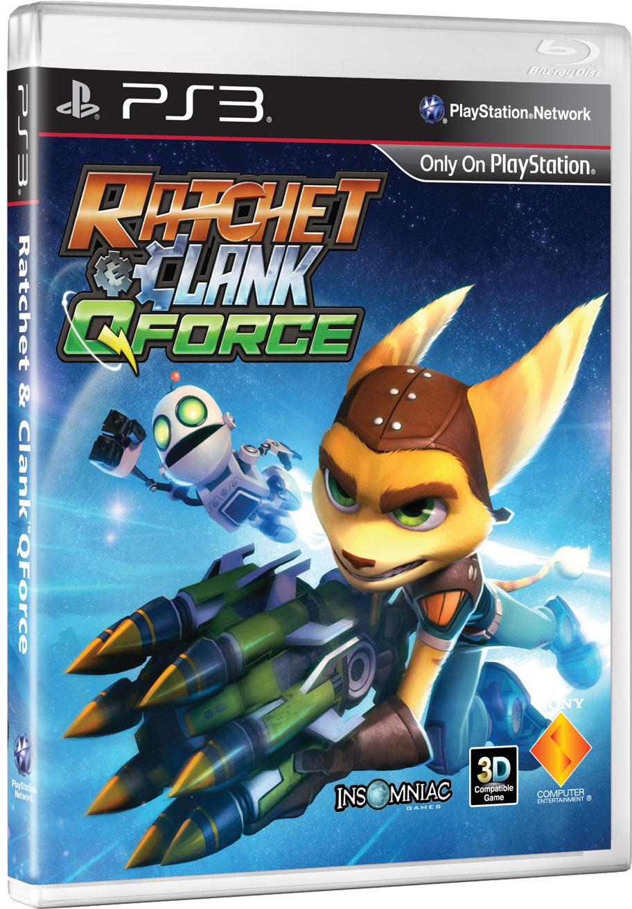Ratchet-Clank-QForce PS3 Jaquette 001