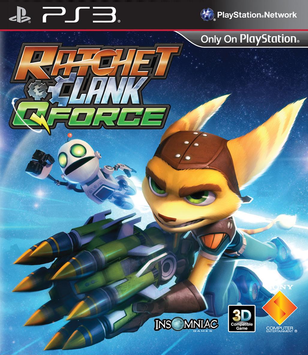 Ratchet-Clank-QForce PS3 Jaquette 002