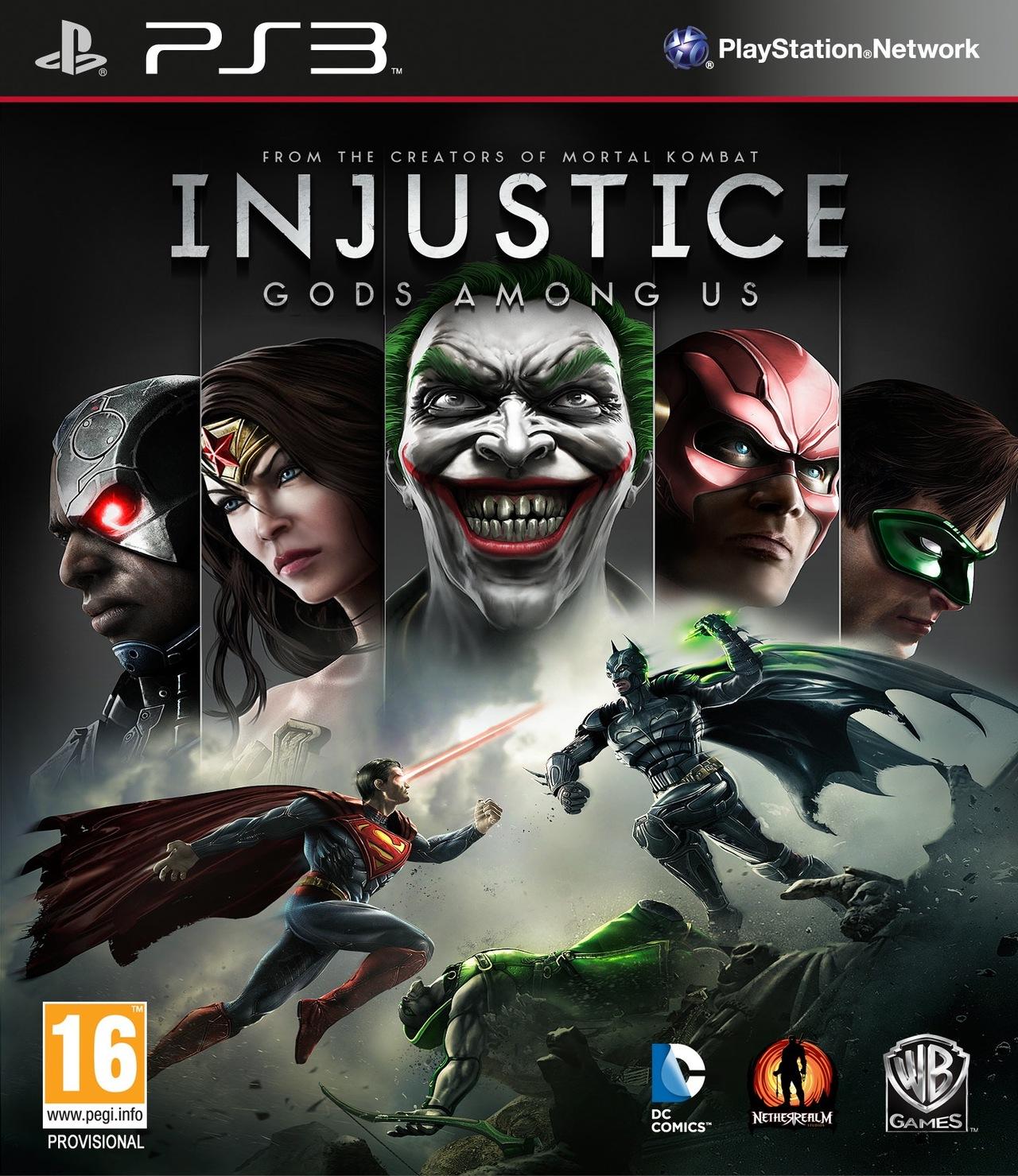 Injustice-LesDieuxSontParmiNous PS3 Jaquette 001