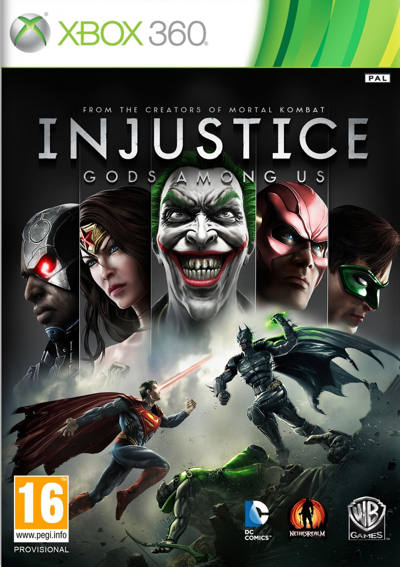 Injustice-LesDieuxSontParmiNous 360 Jaquette 001