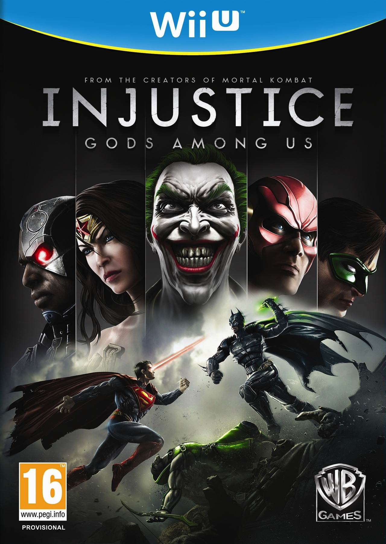 Injustice-LesDieuxSontParmiNous Wii U Jaquette 001