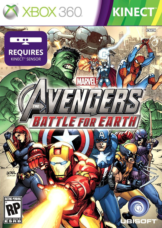 MarvelAvengers-BattleforEarth 360 Jaquette 001