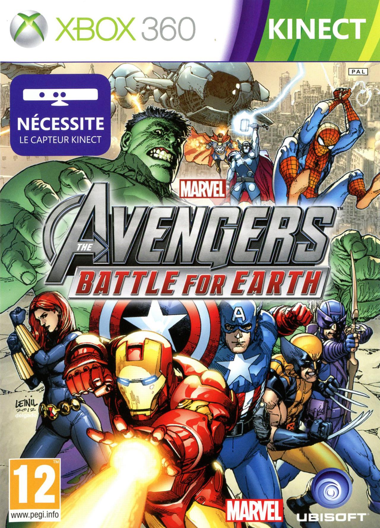 MarvelAvengers-BattleforEarth 360 Jaquette 002