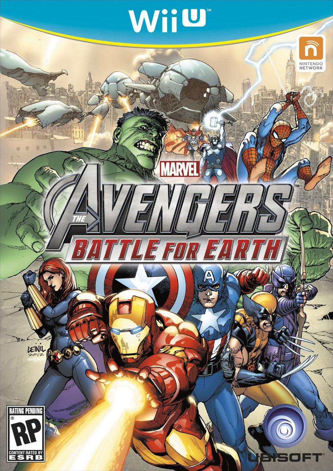 MarvelAvengers-BattleforEarth Wii U Jaquette 001