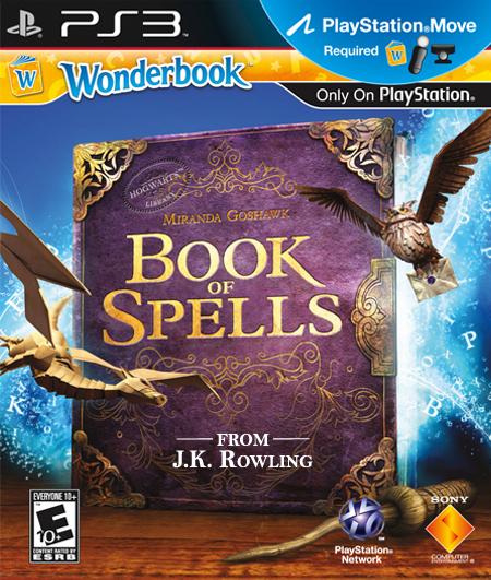 Wonderbook-BookofSpells PS3 Jaquette 001